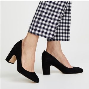 NEW Sam Edelman Black Suede Junie's Pump
